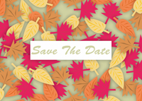Fall Save The Date